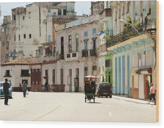 Old Havana - Cuba Wood Print