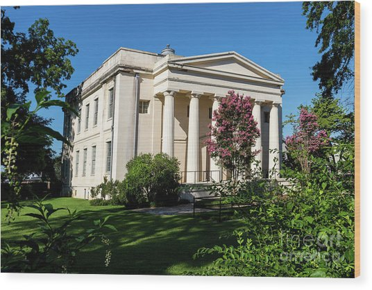 Old Medical College - Augusta Ga Wood Print