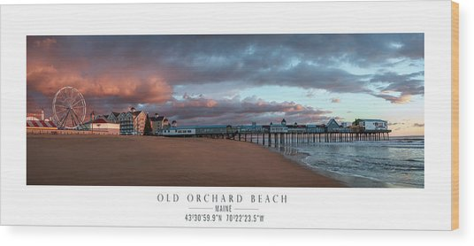 Old Orchard Wood Print by Chad Tracy