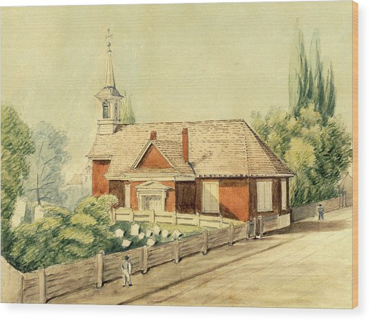 Old Swedes' Church, Southwark, Philadelphia Wood Print