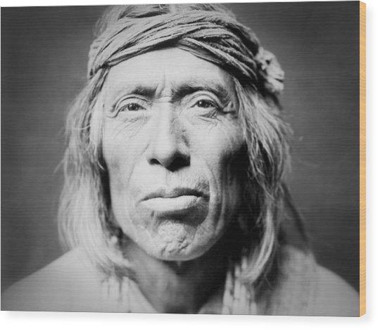 Old Zuni Man Circa 1903 Wood Print