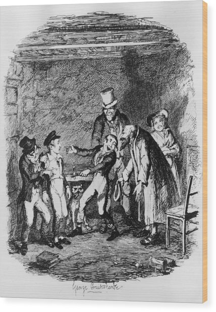 Oliver Twist Wood Print by Hulton Archive
