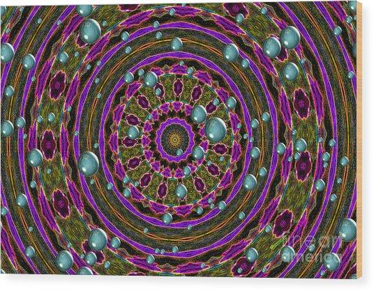 Orbital Alignment Wood Print