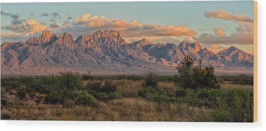 Organ Mountains, Las Cruces, New Mexico Wood Print