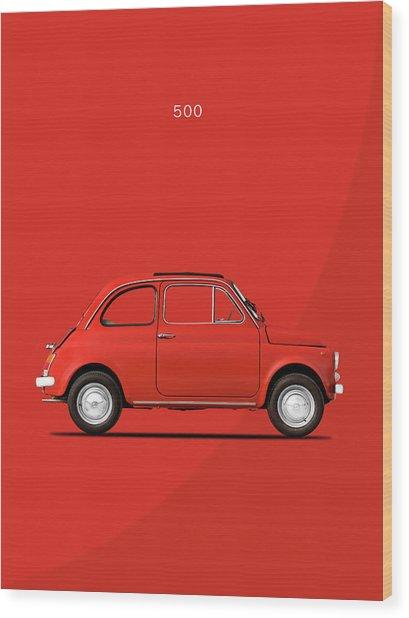 Original 500 Wood Print