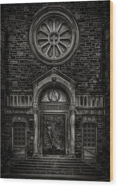 Wood Print featuring the photograph Our Lady Of Sorrows by Brian Carson