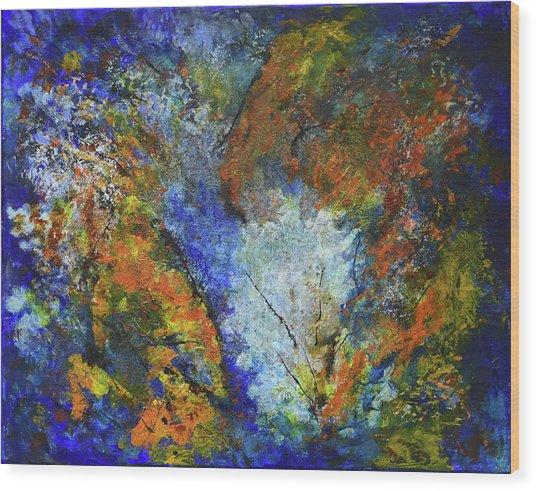 Oxidation Wood Print