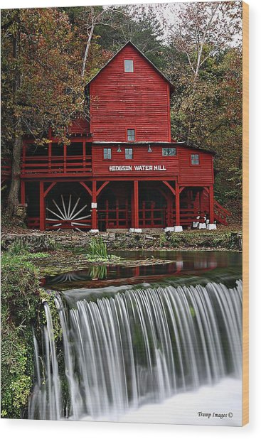 Ozarks Mill Wood Print