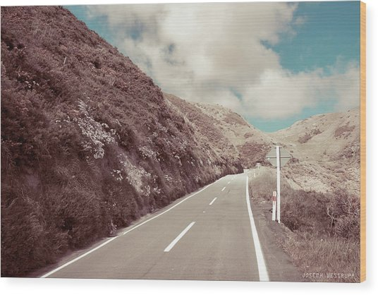 Paekakariki Hill Road Wood Print