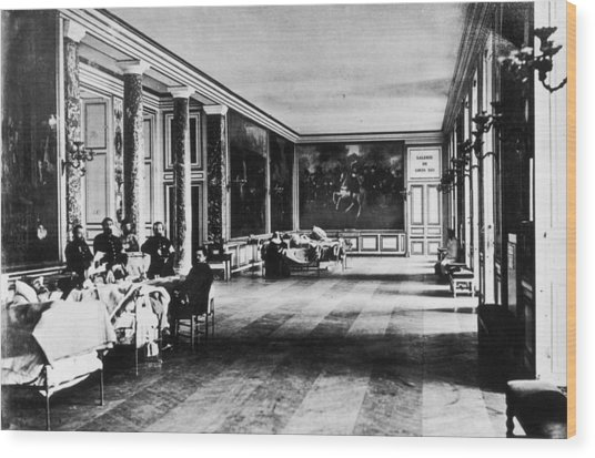 Palace Hospital Wood Print by Henry Guttmann Collection