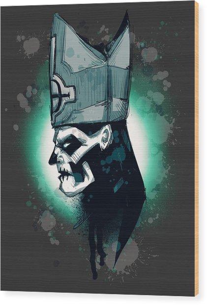 Papa Wood Print
