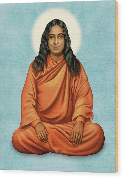 Paramhansa Yogananda Wood Print