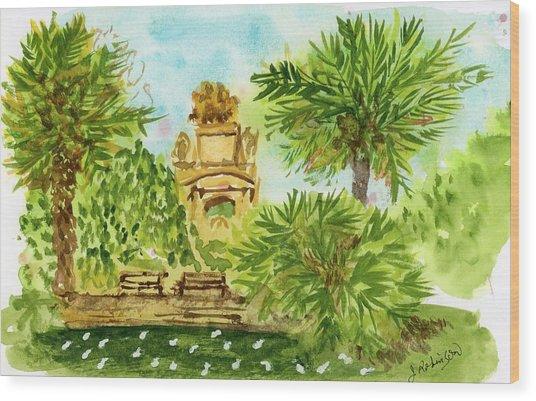 Parc De La Ciutadella Wood Print