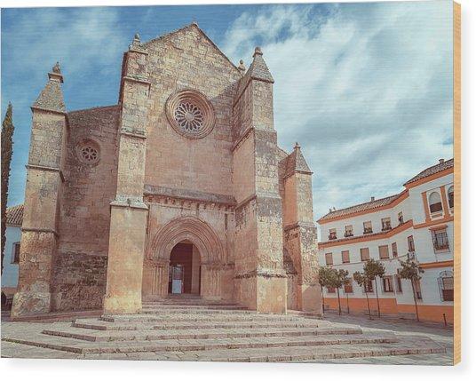 Parish Of Santa Marina Cordoba Spain II Wood Print