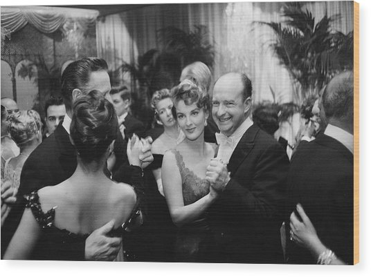 Party At Romanoffs Wood Print by Slim Aarons