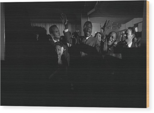 Party For Raisin In The Sun Wood Print