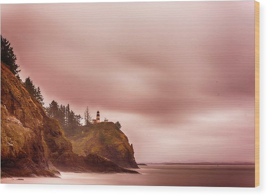 Pastel Seascape Wood Print