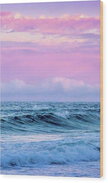 Pastel Summer  Wood Print