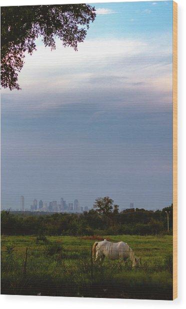 Pasture Wood Print