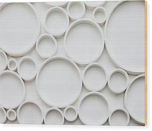 Pattern Of Wall Wood Print