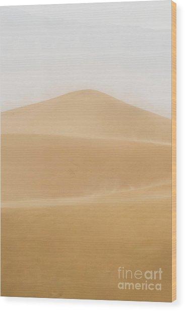 Patterned Desert Wood Print