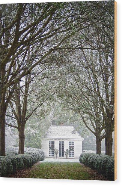 Peaceful Holiday Wood Print