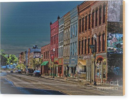 Penn Yan Wood Print