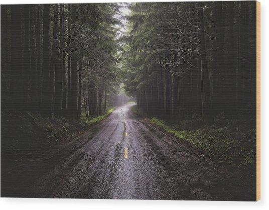 Petrichor Wood Print