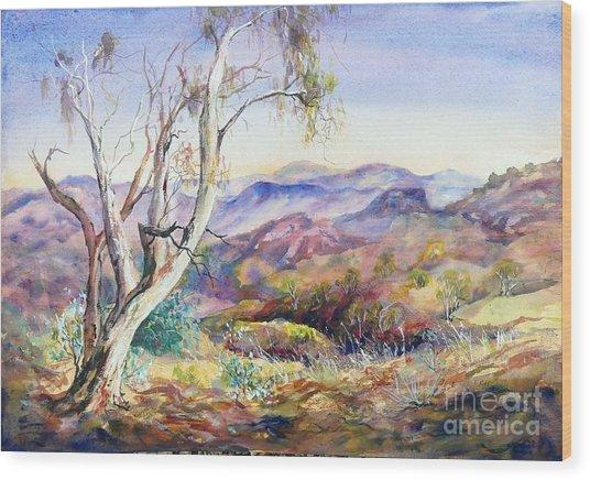 Pilbara, Hamersley Range, Western Australia. Wood Print