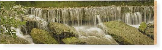 Pillsbury Crossing Pano Wood Print