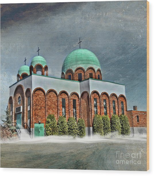 Place Of Worship Wood Print