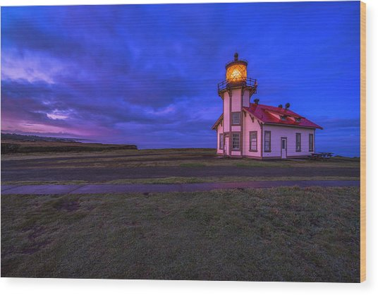 Point Cabrillo Light Station - 3 Wood Print