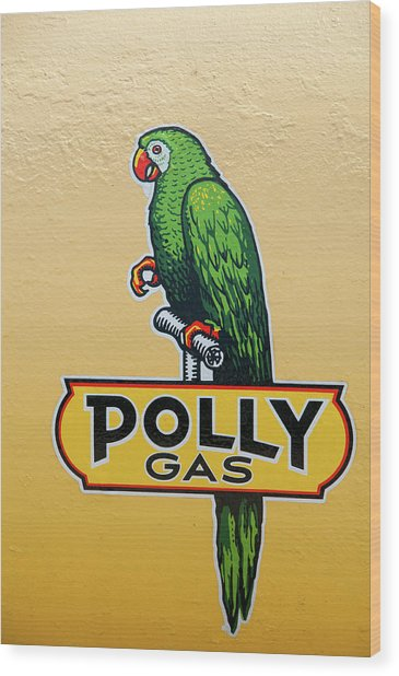 Polly Gas Wood Print