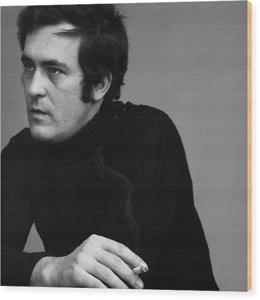 Portrait Of Bernardo Bertolucci Wood Print by Jack Robinson