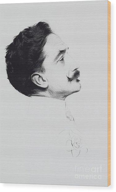 Portrait Of Robert De Montesquiou Wood Print