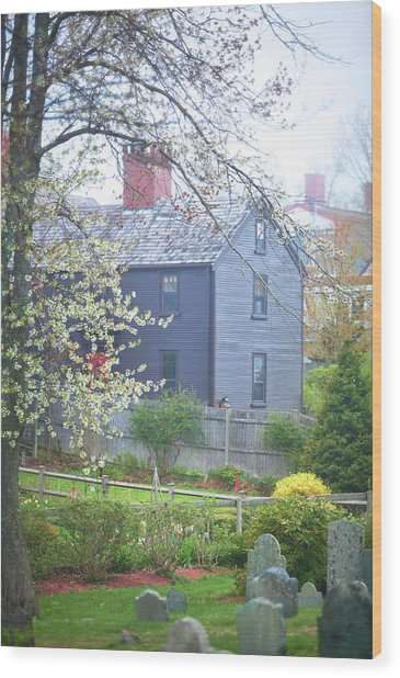 Portsmouth Spring Colors Wood Print by Eric Gendron