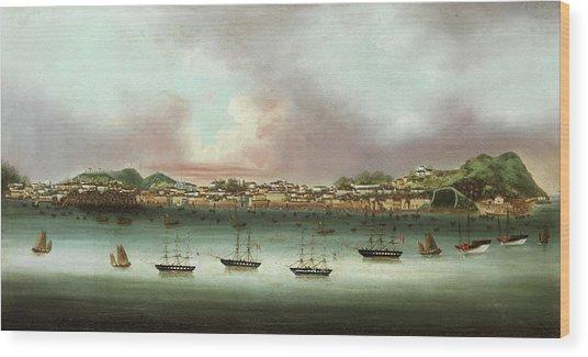 Praia Grande - Macau Wood Print
