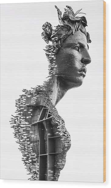 Wood Print featuring the photograph Primivera by Rand