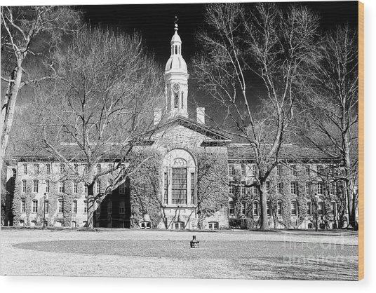 Princeton University New Jersey Wood Print