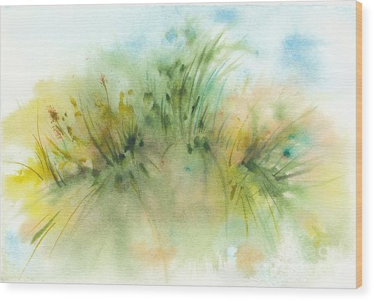 Promise Of Sunshine Wood Print