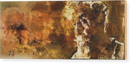 Quijote Wood Print