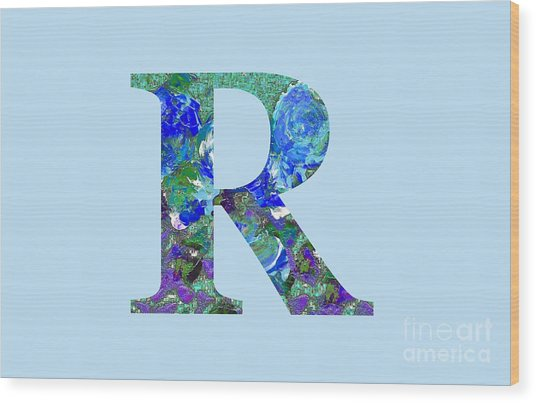 R 2019 Collection Wood Print