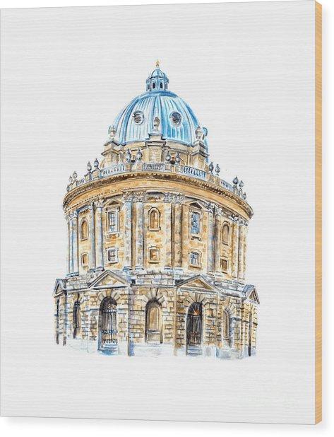 Radcliffe Camera Wood Print