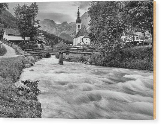 Ramsau, Bavaria Wood Print