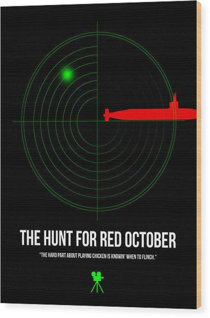 Red October Wood Print