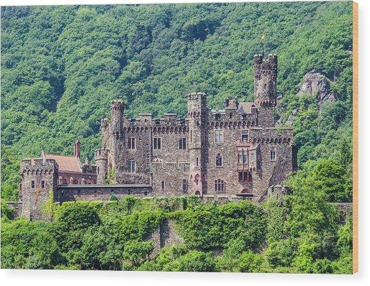 Rheinstein Castle - 2 Wood Print