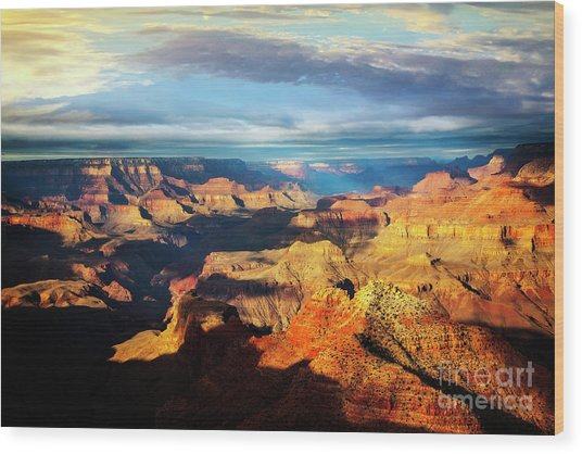 Wood Print featuring the photograph Rim To Rim by Scott Kemper