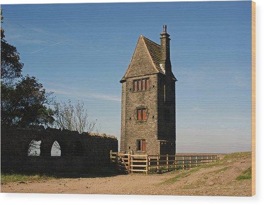 Rivington. The Pigeon Tower. Wood Print