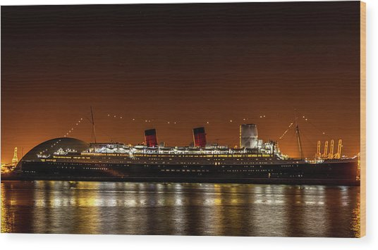 Rms Queen Mary Wood Print