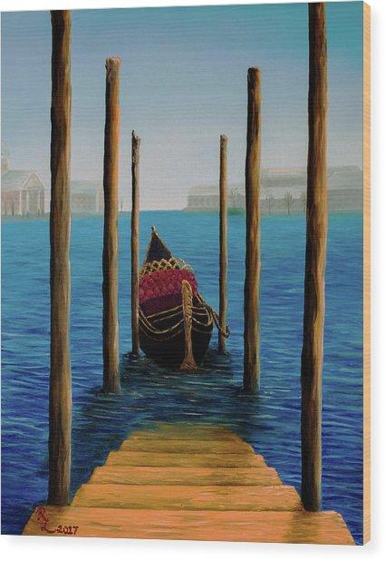 Romantic Solitude Wood Print